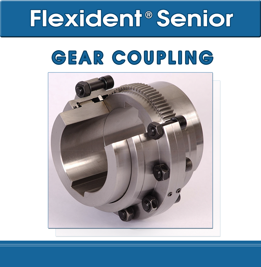 Flexident senior Gear coupling