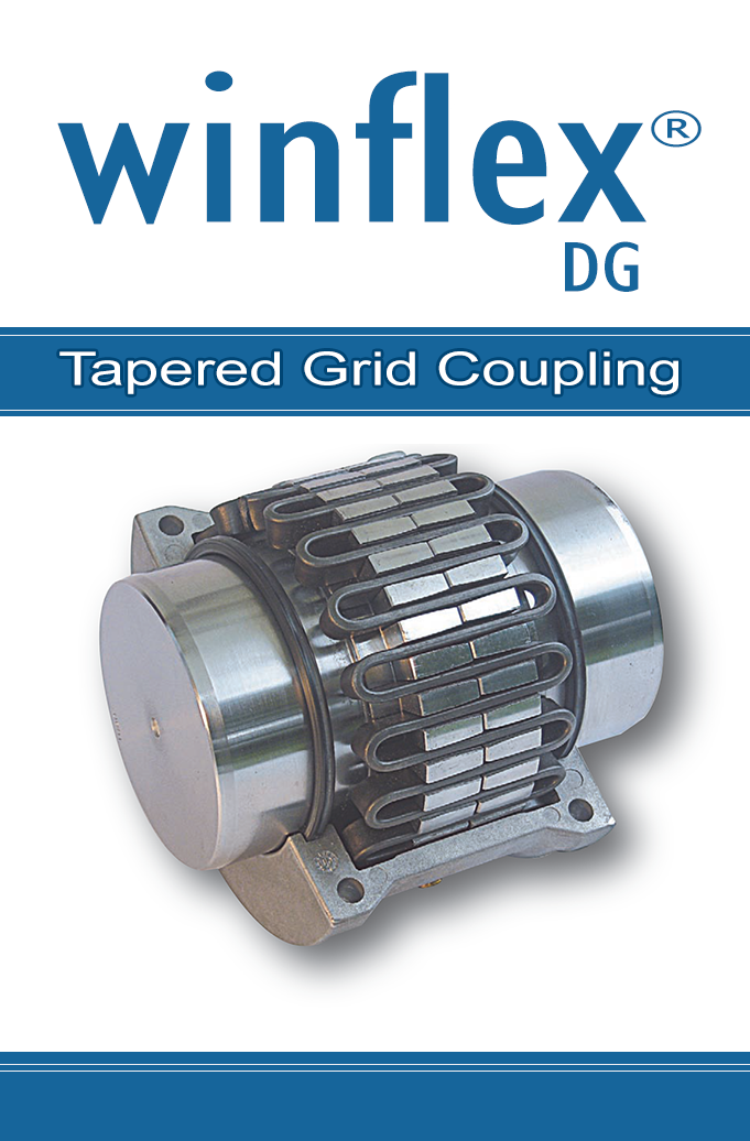 Winflex DG tapered grid couplings